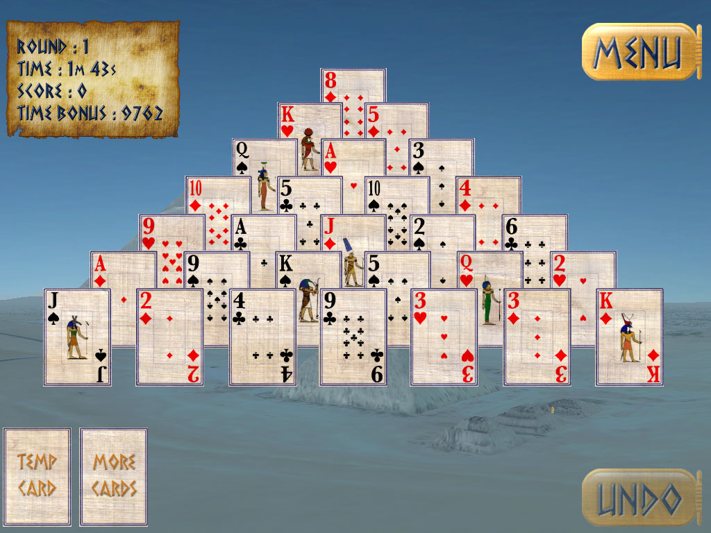 pyramid ancient solitaire