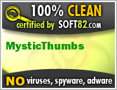 Soft82 100% Clean Award For MysticThumbs